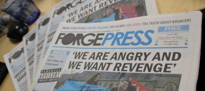 SPA Statement on Sheffield SU's proposals to scale down Forge Press newsroom