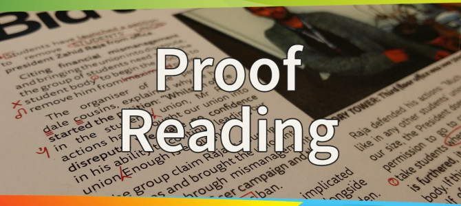 Training Tuesdays: Proofreading