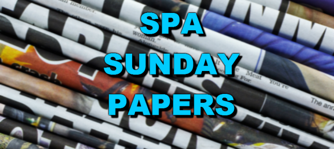 SPA Sunday Papers: October 3