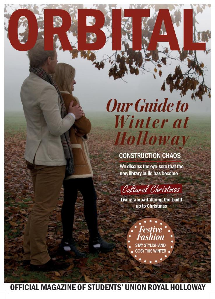 In this issue: Proposal for fifth student officer, campus construction gripes and how to look good this winter at Holloway.