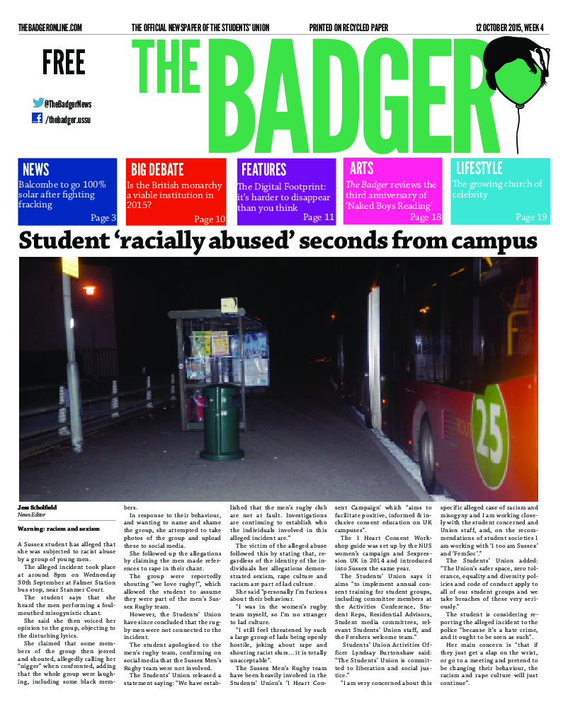 thumbnail of The Badger