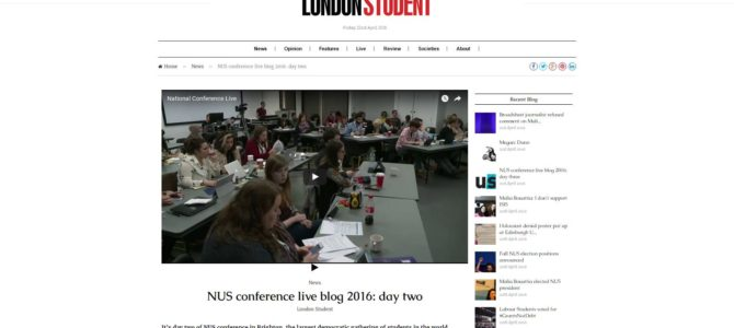 Flash Friday 22/2: Health on campus, Paxman and #NUSConference