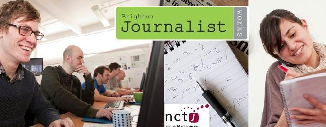 Win an NCTJ bursary with Brighton Journalist Works